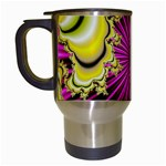 sonic_yellow_wallpaper-120357 Travel Mug (White)