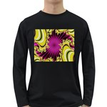 sonic_yellow_wallpaper-120357 Long Sleeve Dark T-Shirt