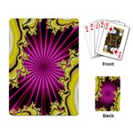 sonic_yellow_wallpaper-120357 Playing Cards Single Design