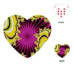 sonic_yellow_wallpaper-120357 Playing Cards (Heart)