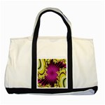 sonic_yellow_wallpaper-120357 Two Tone Tote Bag