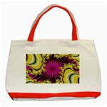 sonic_yellow_wallpaper-120357 Classic Tote Bag (Red)