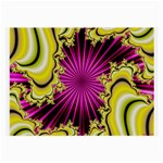 sonic_yellow_wallpaper-120357 Glasses Cloth (Large, Two Sides)