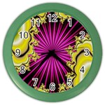 sonic_yellow_wallpaper-120357 Color Wall Clock