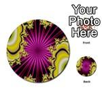 sonic_yellow_wallpaper-120357 Multi-purpose Cards (Round)