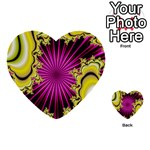 sonic_yellow_wallpaper-120357 Multi-purpose Cards (Heart)