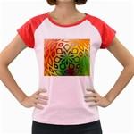 Alternative%20Flower-346872 Women s Cap Sleeve T-Shirt