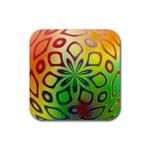Alternative%20Flower-346872 Rubber Coaster (Square)