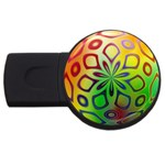 Alternative%20Flower-346872 USB Flash Drive Round (1 GB)