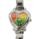 Alternative%20Flower-346872 Heart Italian Charm Watch