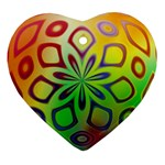 Alternative%20Flower-346872 Heart Ornament (Two Sides)