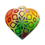 Alternative%20Flower-346872 Dog Tag Heart (One Side)