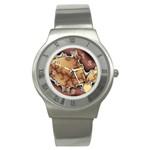 tabula_wallpaper-145984 Stainless Steel Watch