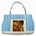 tabula_wallpaper-145984 Striped Blue Tote Bag