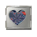fractal_supiart_wallpaper-816331 Mega Link Heart Italian Charm (18mm)