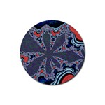fractal_supiart_wallpaper-816331 Rubber Round Coaster (4 pack)