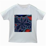 fractal_supiart_wallpaper-816331 Kids White T-Shirt