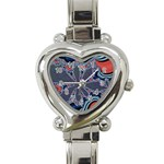 fractal_supiart_wallpaper-816331 Heart Italian Charm Watch