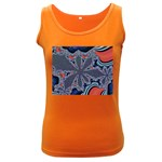 fractal_supiart_wallpaper-816331 Women s Dark Tank Top