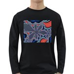 fractal_supiart_wallpaper-816331 Long Sleeve Dark T-Shirt
