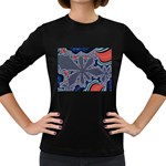 fractal_supiart_wallpaper-816331 Women s Long Sleeve Dark T-Shirt