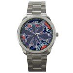 fractal_supiart_wallpaper-816331 Sport Metal Watch