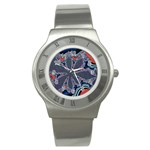 fractal_supiart_wallpaper-816331 Stainless Steel Watch