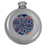 fractal_supiart_wallpaper-816331 Hip Flask (5 oz)