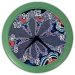 fractal_supiart_wallpaper-816331 Color Wall Clock