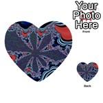 fractal_supiart_wallpaper-816331 Multi-purpose Cards (Heart)