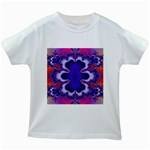 fractal_wallpaper-212207 Kids White T-Shirt