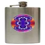 fractal_wallpaper-212207 Hip Flask (6 oz)