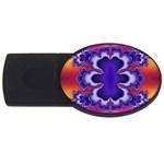 fractal_wallpaper-212207 USB Flash Drive Oval (4 GB)