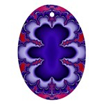 fractal_wallpaper-212207 Oval Ornament (Two Sides)