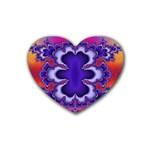 fractal_wallpaper-212207 Rubber Coaster (Heart)