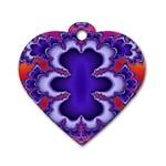 fractal_wallpaper-212207 Dog Tag Heart (One Side)