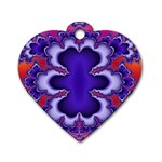 fractal_wallpaper-212207 Dog Tag Heart (Two Sides)