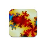 goglow-153133 Rubber Square Coaster (4 pack)