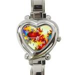 goglow-153133 Heart Italian Charm Watch