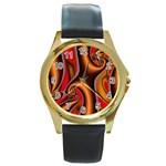 3z28d332-625646 Round Gold Metal Watch