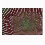 Spiral-Abnorm%2001-601877 Postcard 4 x 6  (Pkg of 10)
