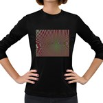 Spiral-Abnorm%2001-601877 Women s Long Sleeve Dark T-Shirt