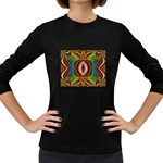Toxic_Wave-838095 Women s Long Sleeve Dark T-Shirt