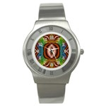 Toxic_Wave-838095 Stainless Steel Watch