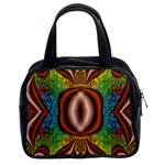 Toxic_Wave-838095 Classic Handbag (Two Sides)