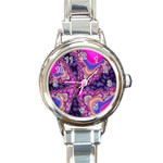 World-of-fun-02-725794 Round Italian Charm Watch