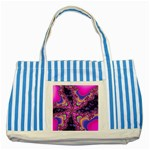 World-of-fun-02-725794 Striped Blue Tote Bag