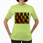 wallpaper_15630 Women s Green T-Shirt