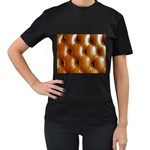 wallpaper_15630 Women s Black T-Shirt (Two Sides)
