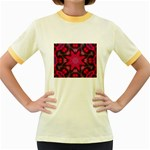 X_Red_Party_Style-777633 Women s Fitted Ringer T-Shirt